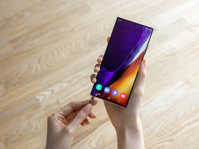 Samsung meluncurkan Galaxy Note20 dan Galaxy Note20 Ultra