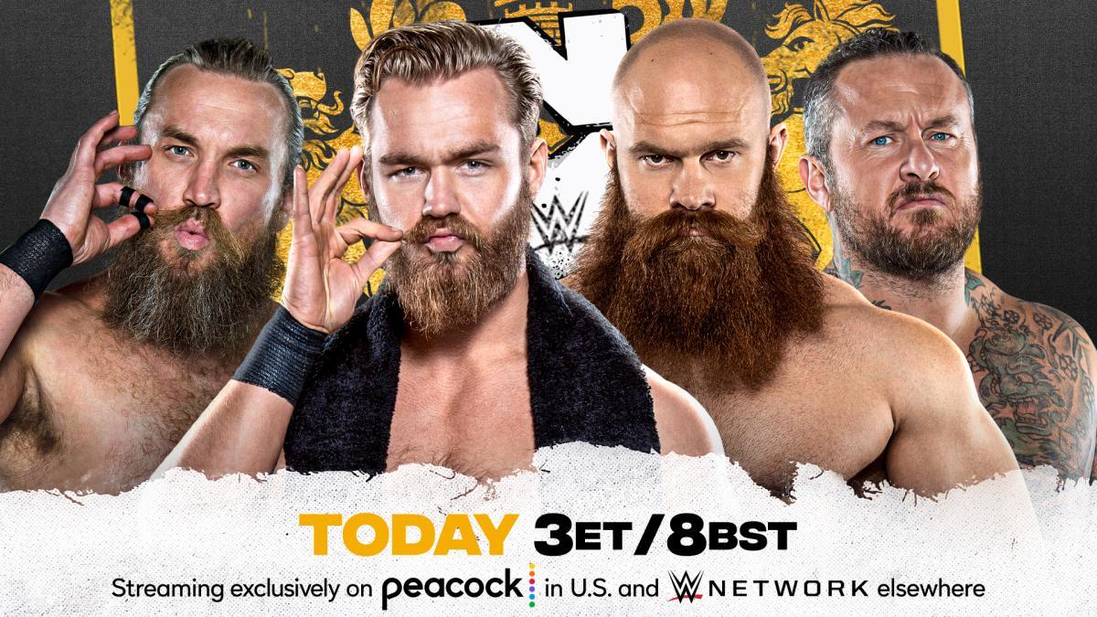 Cobertura: WWE NXT UK (29/07/2021) – O verdadeiro grupo!