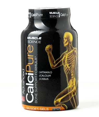Muscle Science Advanced CalciPure Bone Support Formula, 60 Softgels