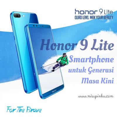 Honor 9 Lite, Smartphone untuk Generasi Masa Kini