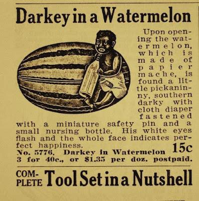 Darkie in a Watermelon