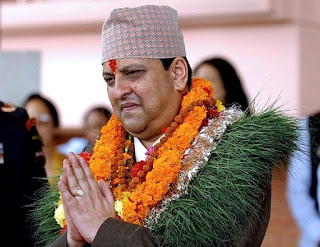 Rare picture of gyanendra