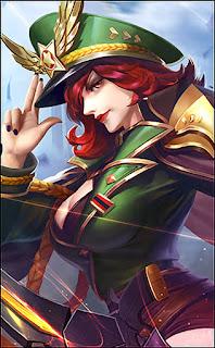 Miya Captain Thorns Heroes Marksman of Skins Starlight V2