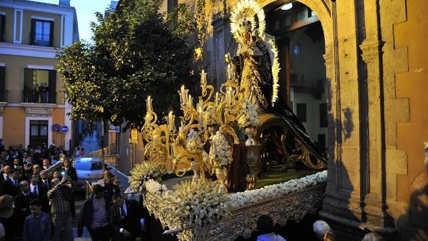 Horario e Itinerario Salida Procesional de la Virgen del Rosario de San Vicente. Sevilla 01 de Noviembre del 2021