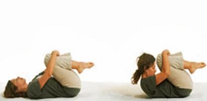 Gerakan Yoga Pavan-Muktasan untuk Mengecilkan Perut