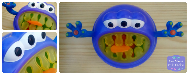 Ideas snacks saludables Porta snack imonster nuby
