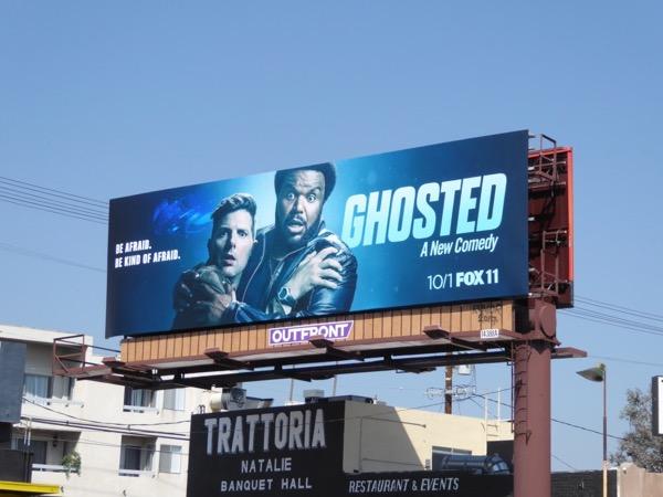 Ghosted series premiere billboard