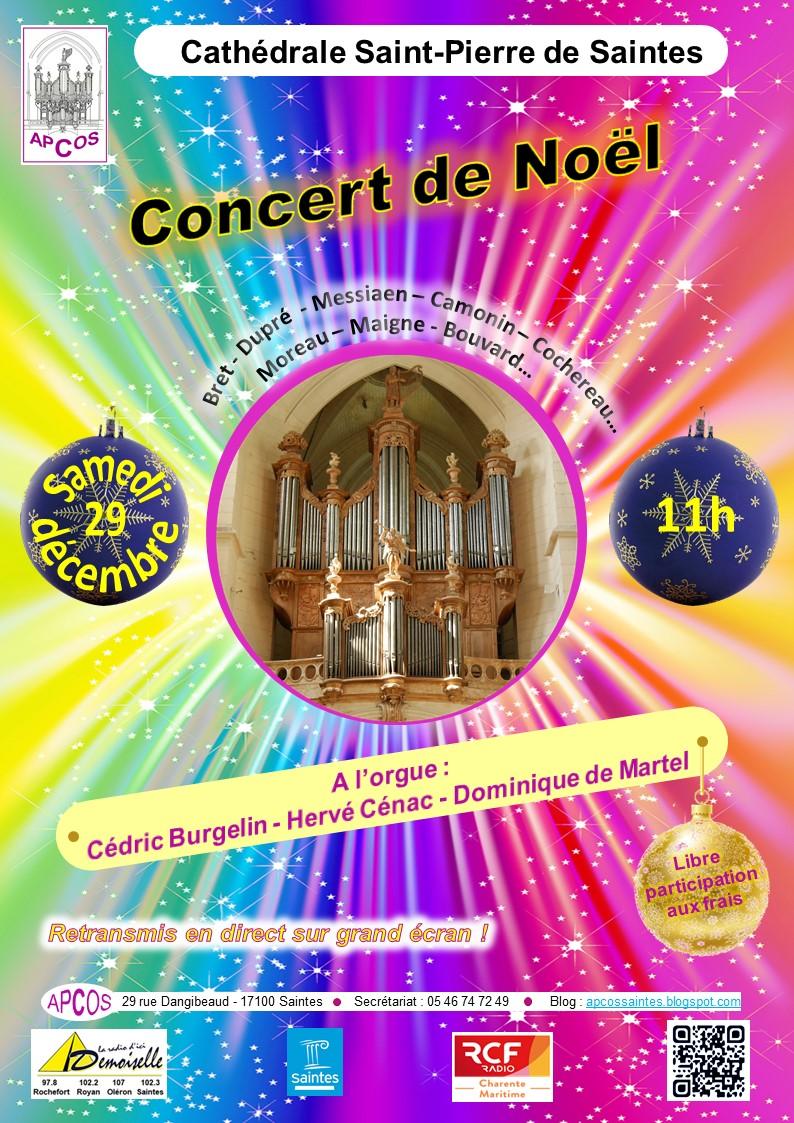 affiche concert 29 12 18 - Apcossaintes
