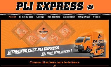 Pli-express.fr , coursiers les plus rapides de Paris