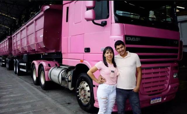 Caminhoneira testemunha cura de câncer de mama após receber oração