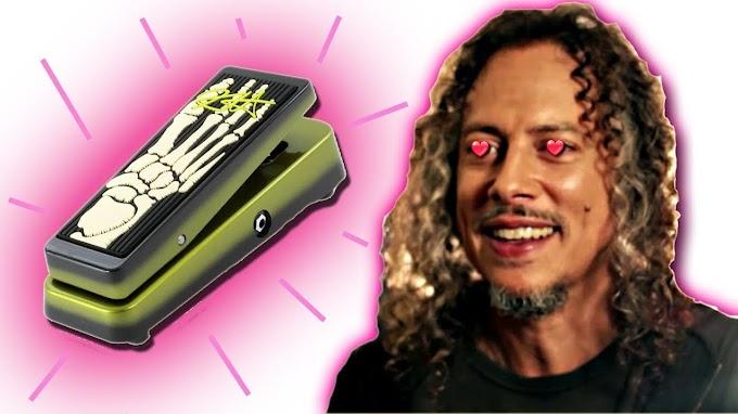 Kirk Hammett revela porque ama el pedal wah wah