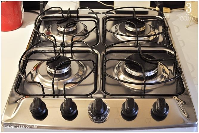 receita de misturinha para limpar fogão