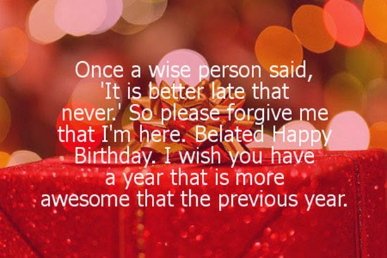 Belated Birthday Wishes For A Friend S Specs Happy Quotes Quotesgram