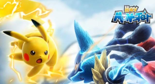Game Monster Park Sea yang mirip Pokemon Go