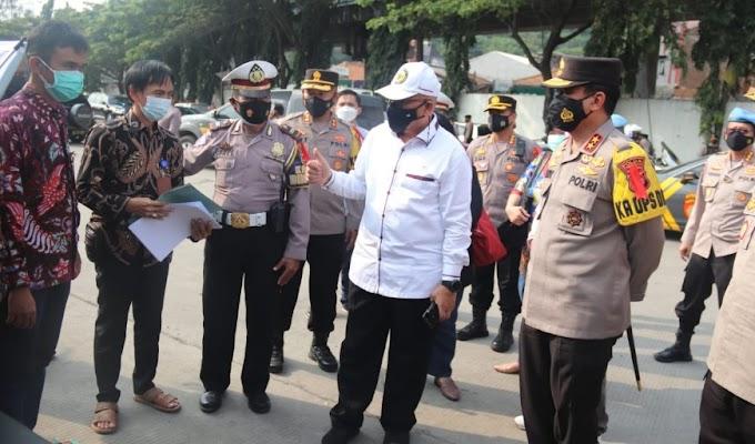 Kapolda Banten Dampingi Kunjungan Kompolnas Tinjau Pos PAM Merak