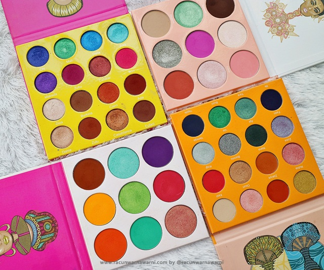 Eyeshadow Palette Favorit 2018