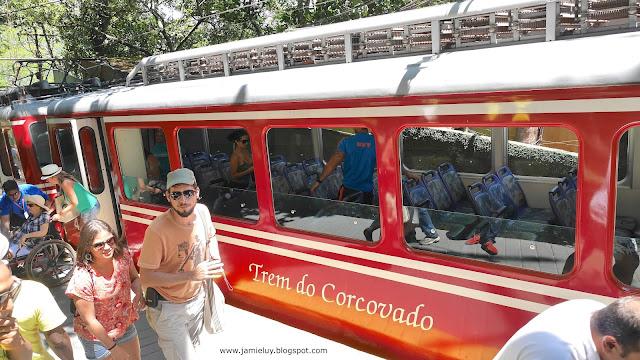 Corcovado Train, Rio de Janeiro, Brazil