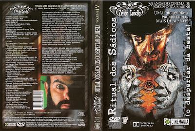 O Ritual dos Sádicos - O Despertar da Besta DVD Capa
