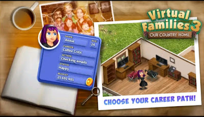 Download Virtual Families 3 Mod APK Download Free Now Unlimited Money Cheats