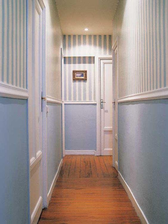 soluciones para decorar pasillos estrechos