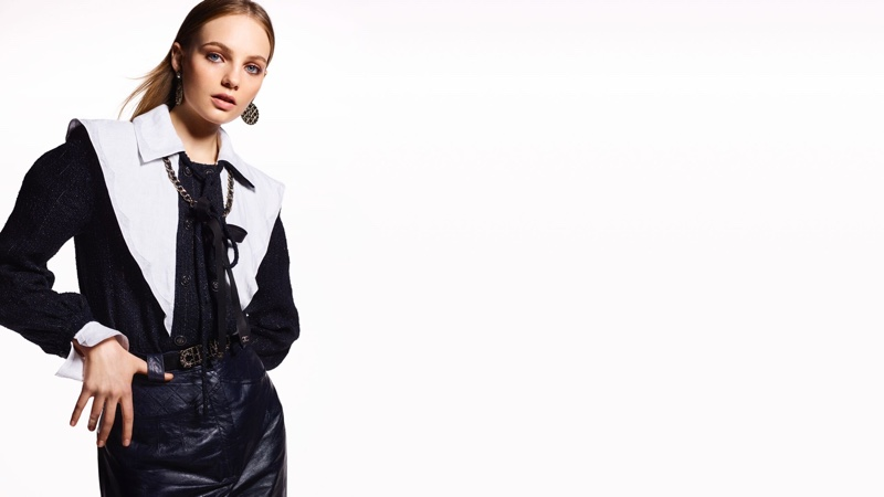 Fran Summers fronts Chanel resort 2020 campaign