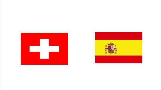 مشاهدة مباراة إسبانيا و سويسرا بث مباشر اليوم على موقع كورة فور لايف