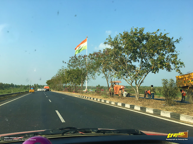 Travelling along NH44