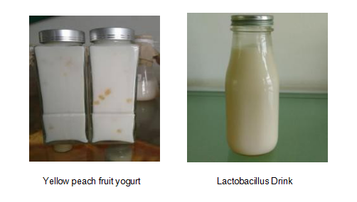 high acyl gellan gum in fruit yogurt and lactobacillus drink