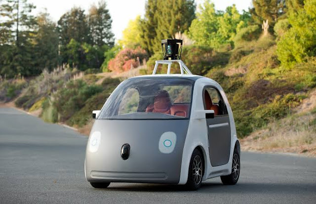 LIDAR sensor Google car, future car Tesla car Ford car future technology