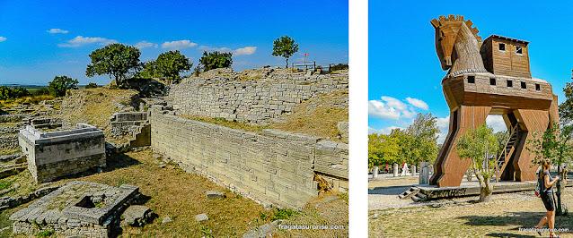 Sítio arqueológico de Troia, Turquia