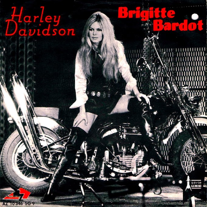 "Brigitte Bardot - ""Harley Davidson"" [1967"