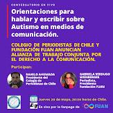 Colegio de Periodistas y Fundación FUAN anuncian alianza de trabajo por el Derecho a la Comunicación