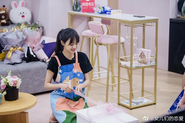 zheng shuang boyfriend qixi gift