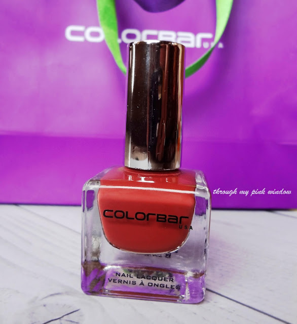 Colorbar Luxe Nail Lacquer in Shade 81 Over the Top : Review and Swatch