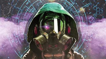 Gas Mask, Hoodie, Anime, 4K, #6.2585
