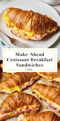 Delicious Croissant Breakfast Sandwich Recipes