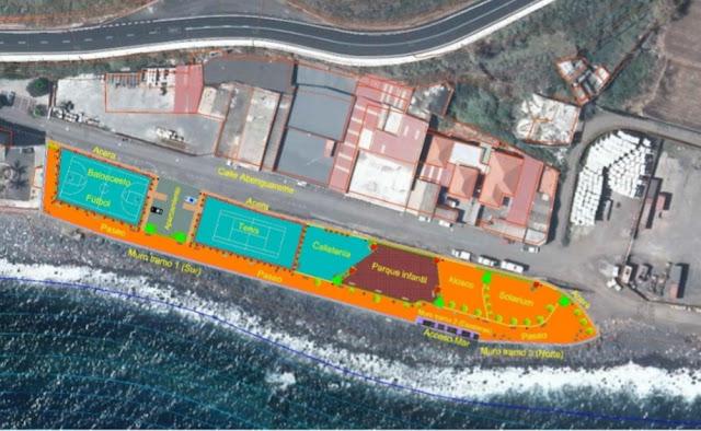 El Ayuntamiento de Santa Cruz de La Palma consensúa con Costas un proyecto que permite desarrollar en Maldonado una zona de ocio y esparcimiento