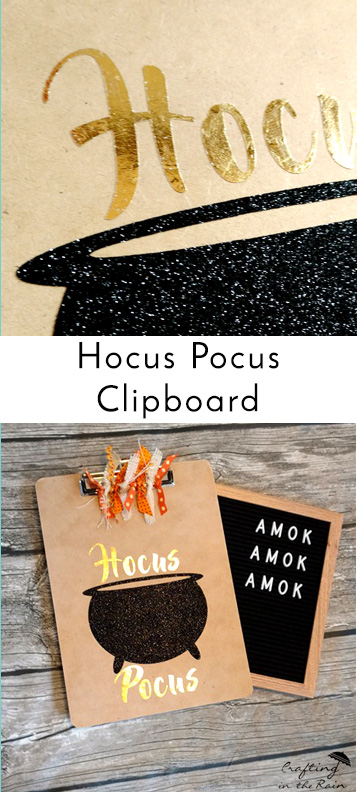 Hocus Pocus Clipboard Crafting In The Rain