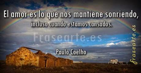 Mensajes de amor Paulo Coelho -
