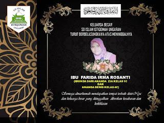 Berita Duka - Ibu Farida Irma Rosanti