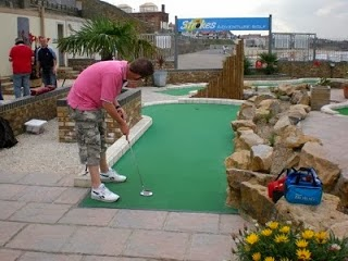 Strokes Adventure Golf course in Margate