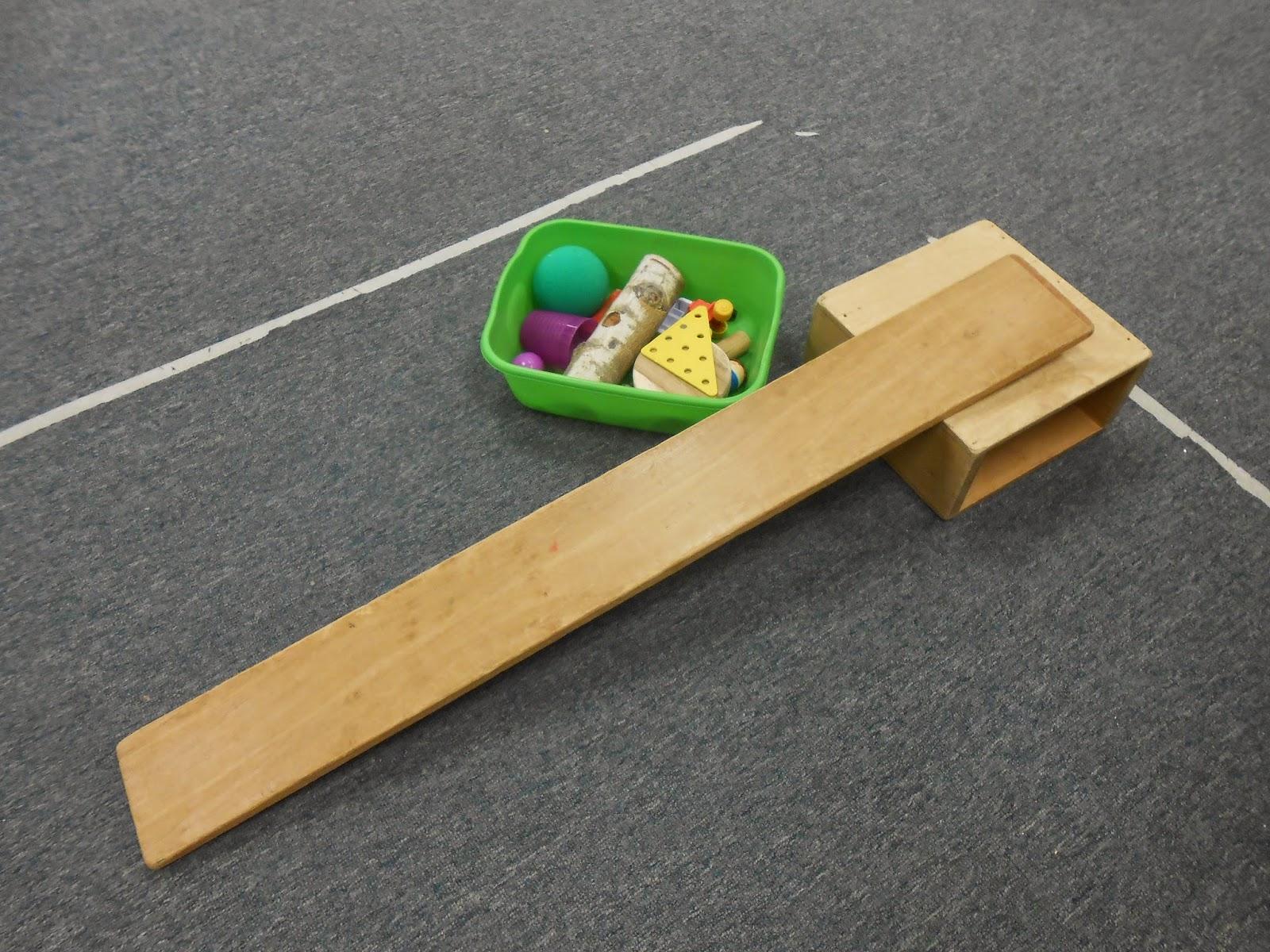 Hesston College Preschool: Inclined Planes