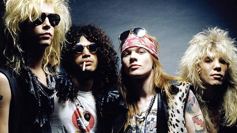 Daftar Album dan Judul Lagu Guns N' Roses