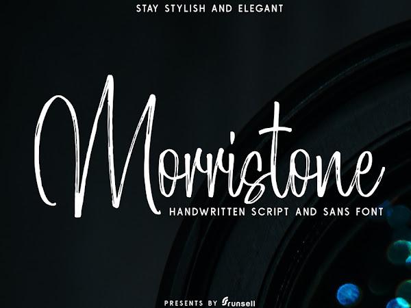Morristone Brush Script Font Free Download