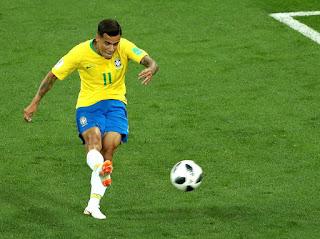 Philippe Coutinho pembuka Brasil