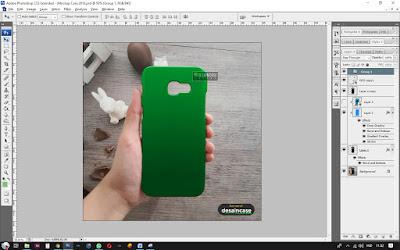 Cara Membuat Mockup Case Samsung