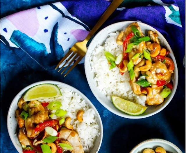 Thai Cashew Chicken #dinner #chicken