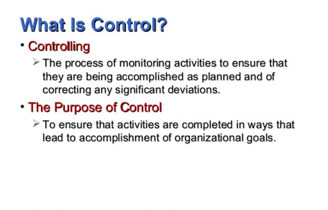 Pentingnya Mengontrol dalam Manajemen