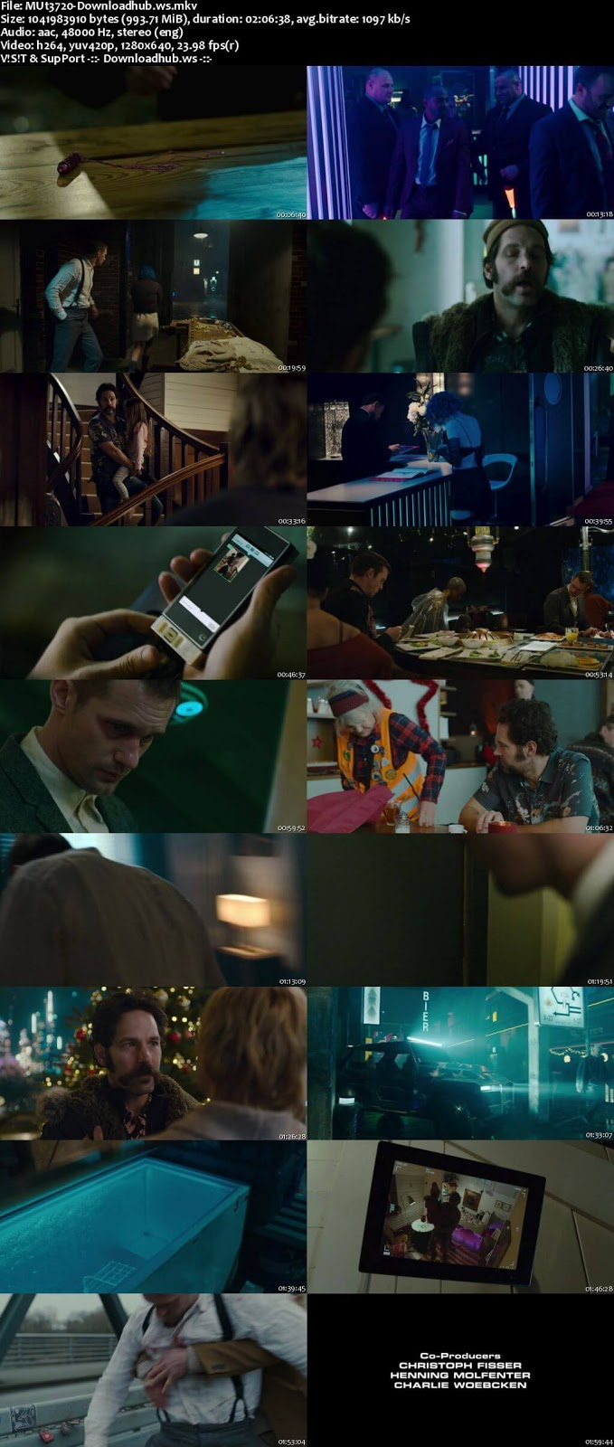Mute 2018 English 720p WEBRip 999MB ESubs