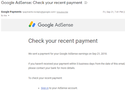 Google Adsense, Cash Out, Earnings, Menjana Pendapatan Dengan Blog, 2018, Lulus Google Adsense, Cash Out Google Adsense For The First Time,